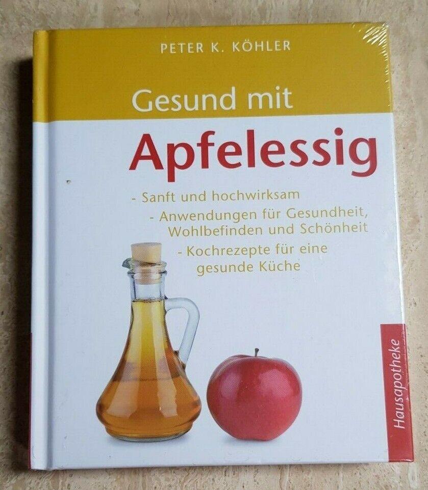 Gesund mit Apfelessig Buch Lexikon Ratgeber Gesundheit Ernährung Rezepte gut NEU