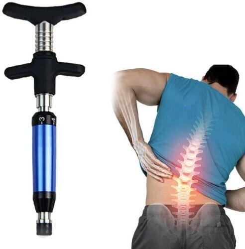 Spine Chiropractic Doinshop Adjusting Tool Impulse Adjuster Spinal Activator(Blu