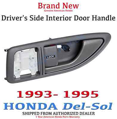 93-95 Genuine OEM Honda Del-Sol Gray Driver Interior Door Handle 72160-SR2-A02ZA