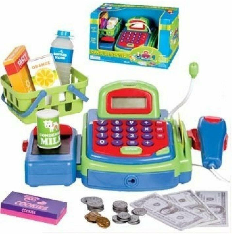 Toy Cash Register for Kids with Sounds & Money and Early Lea
