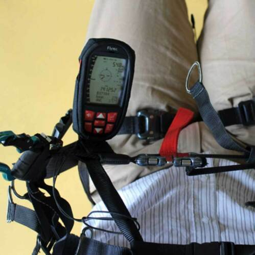Flytec Bracket For Paraglider Harness Made For Variometer Element Speed Or Track