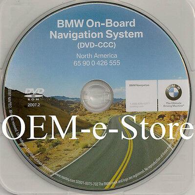 2006 BMW ( ONLY Sedan & Wagon ) 325i 325xi 330i 330xi IN-Dash Navigation DVD Map