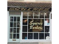 Squires Barbers require a Full or Part time Barber