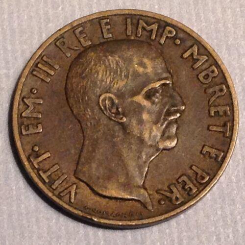 ~ 1940  Albania .05 Lek King Victor Emmanuel  III