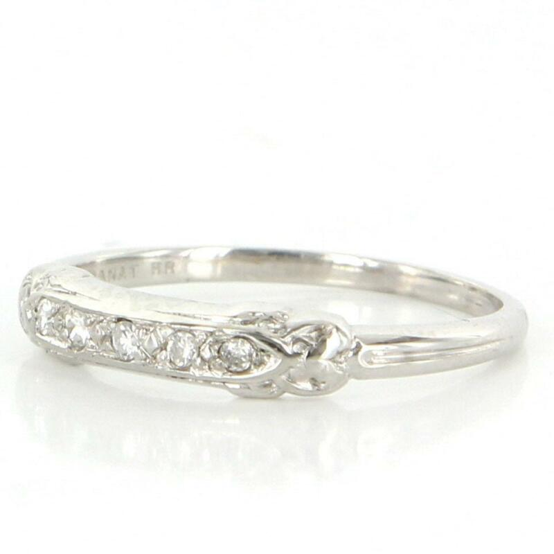 vintage deco wedding ring ebay