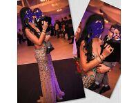 evening long 2 dresses size 8-10