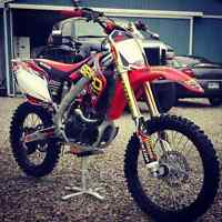 2008 CRF 450 WITH 30 ORIGINAL HOURS
