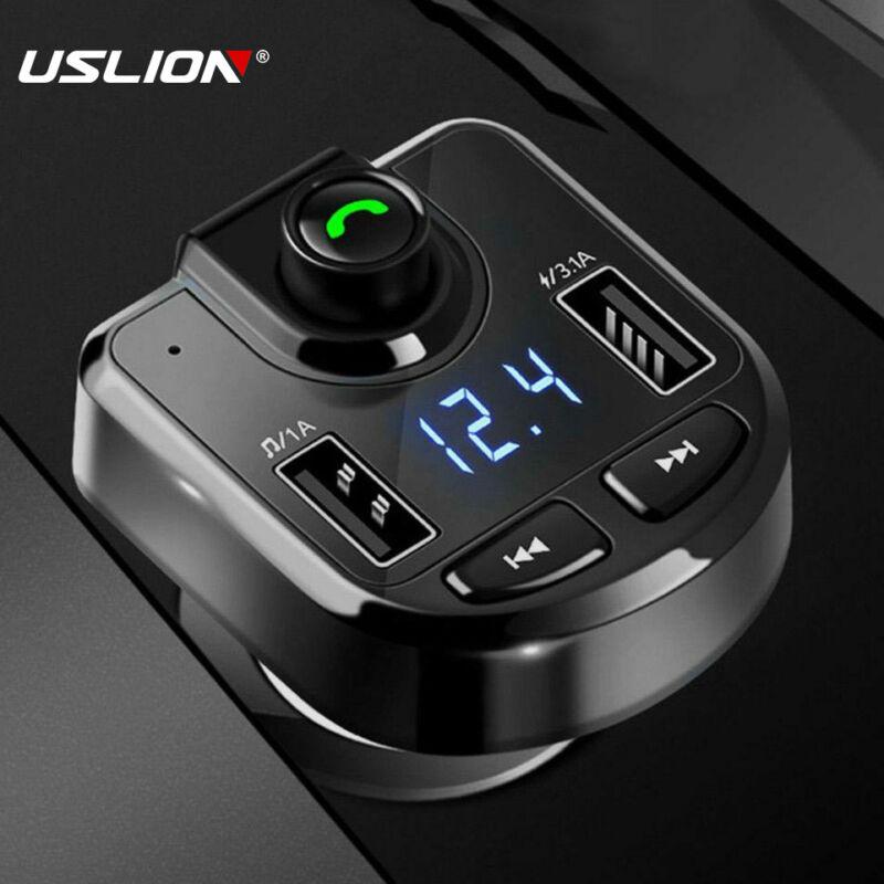 Bluetooth Car Set FM Transmitter Radio MP3 Player USB Charger Wireless Handsfree