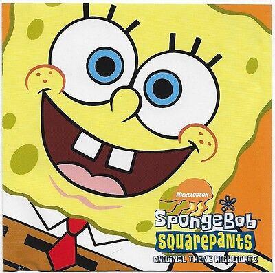 SpongeBob Squarepants: Original Theme Highlights [EP] 2001 CD (Spongebob Themes)
