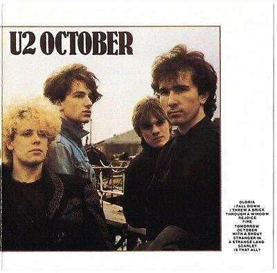 U2 October CD aussie 1990s 842297-2 matrix * D37670 * MADE BY PMI australia oz ()