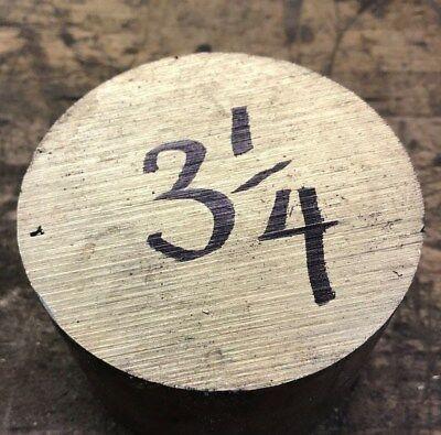 3-14 Dia.x 2.45 L. Brass Bar Stock Alloy C360 Round Rod H2