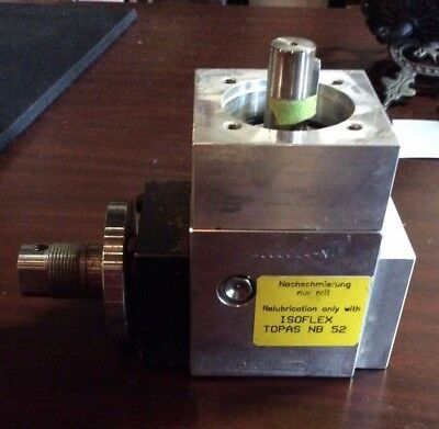 Grotefeld Right Angle Head 4000024-n N-5333 L-1-1.5 Tool Holder Isoflex Topas