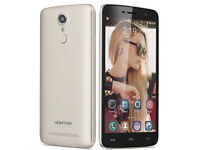 "HOMTOM HT17 4G LTE Quad Core Android 6.0 1G RAM 8G ROM 5.5"" HD FingerID Smartphone 13MP GPS Unlocked"