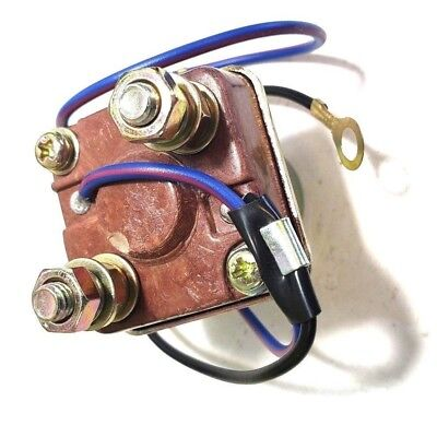 12 Volt Universal Starter Relay Solenoid With 2 Wires For Tractors And Farming