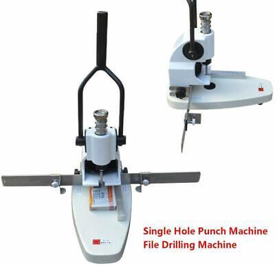 Drilling Machinehole Puncherqy-t30 Manual Paper Hole Punch Single Hole File