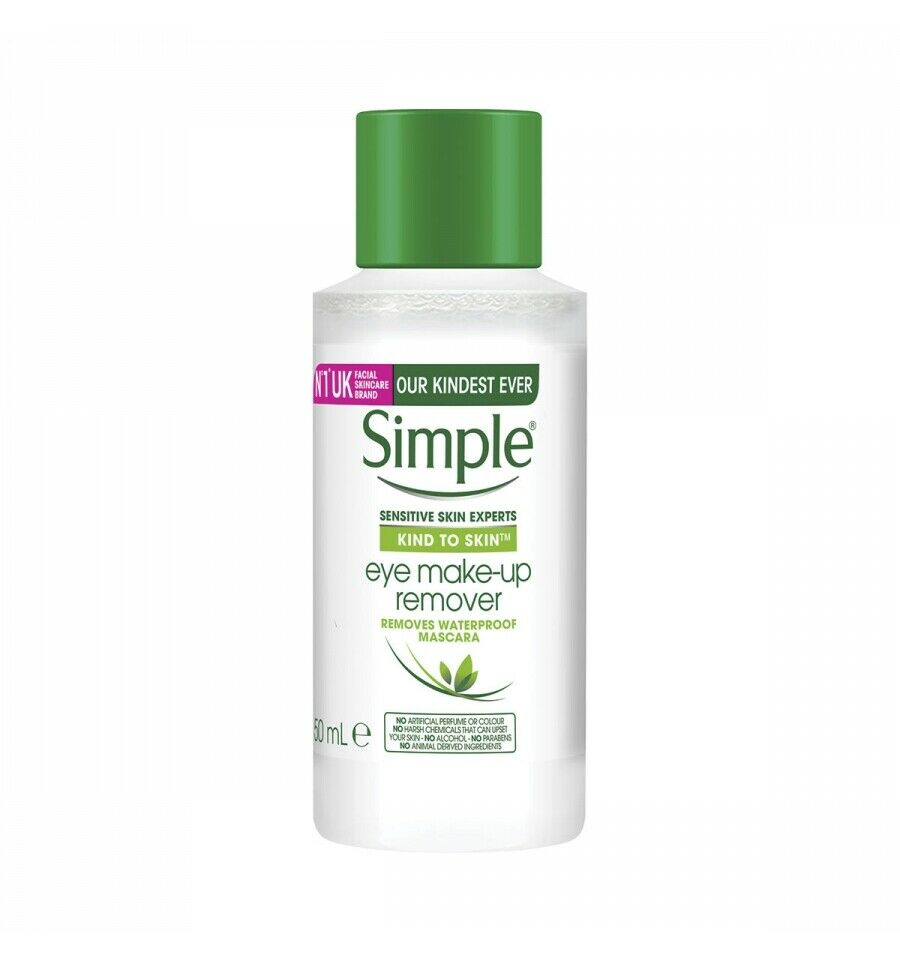 Simple Kind To Skin Eye Makeup Remover Travel Size - 50ml