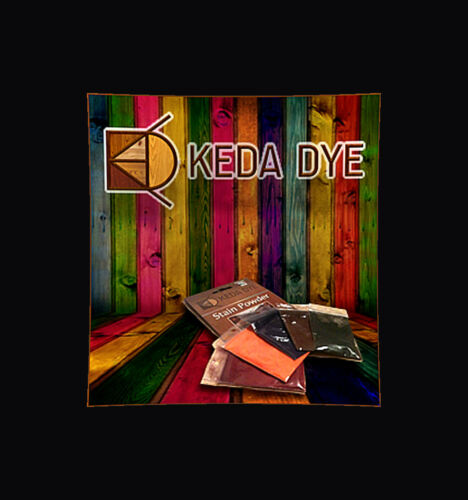 Keda Dye Color Kit 5 Color Wood Dyes Makes 5 Quarts In 5 Wood Stain Colors