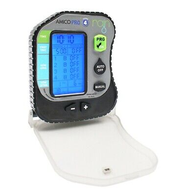 RAIN Friend Pro 4 Control Unit Programmer Battery Powered By Sprinkle 4 Zone