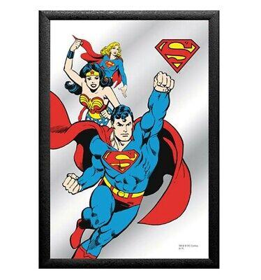 Cuadro Espejo Retro Superman