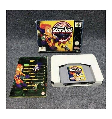 STARSHOT SPACE CIRCUS FEVER NINTENDO 64 N64