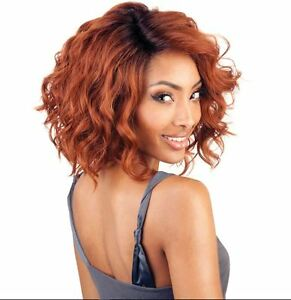 ISIS Brown Sugar BS206 Human Hair Mix Heat safe Lace Front & Part SR4/30/350 WIG