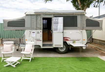 2005 Coromal Pioneer Silhouette PS392 Semi Off Road $16,990 Camden Park West Torrens Area Preview