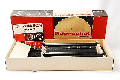 @ Super Rare in Box! @ Zeiss Ikon Reprophot Universal Copying Stand from Japan