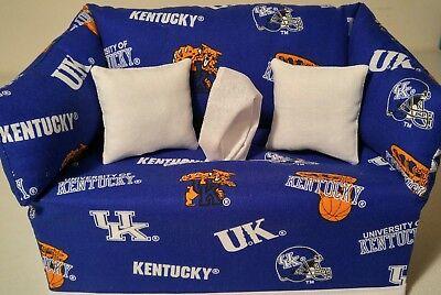 - NCAA University of Kentucky Wildcats Blue Tissue Box Cover Handmade