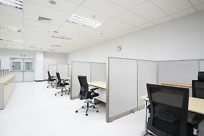 Gof 2 To 14 Person Open Cubicle Office Panel 48h 60h 72h Workstation