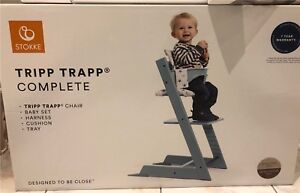 Stokke Tripp Trapp Complete High Chair *Complete Set*