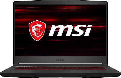 "MSI GF65 15.6"" Gaming Laptop i7-10750H 8GB RAM 512GB SSD GeForce GTX 1660 Ti"
