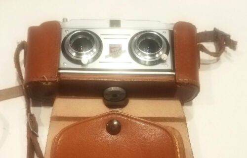 TDC Stereo Colorist 35mm Film Camera With Original Case
