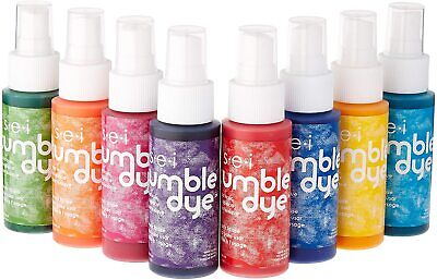 Tie-Dye DIY Kits Clothing Crafts Fabric Painting Decorating Markers NEW