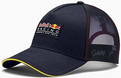 PUMA Red Bull Racing Mesh Back Adjustable Snapback Trucker Hat