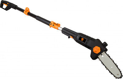Tree Trimmer Pole Saw Electric Chainsaw Pruner 5-7' Telescoping 12' Branch Reach