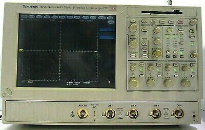Tektronix Tds5054b-nv-av Digital Phosphor Oscilloscope 500mhz Free Shipping
