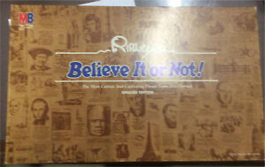 Vintage Ripley's Believe It or Not! Board Game Complete