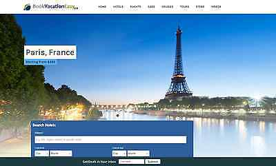 Established Wordpress Travel Website Script 100 Automated - Make 1 -4click