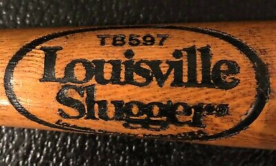 Vintage Louisville Slugger TB597 WOOD TEE BALL BAT 26-inches long - Collectible