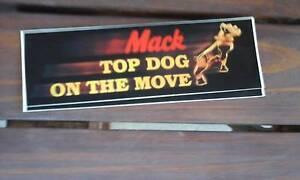 1 X TOP DOG Mack Sticker Toowoomba Toowoomba City Preview
