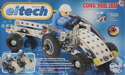 Eitech Traktor mit Hänger Metallbaukasten Construktionsbaukasten 81