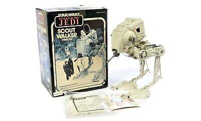 Star Wars ROTJ 1982 Vintage Scout Walker COMPLETE in original Palitoy Box