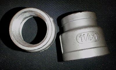 Stainless Steel Reducer Coupling 1 14 X 1 Npt Pipe Rc-125-100