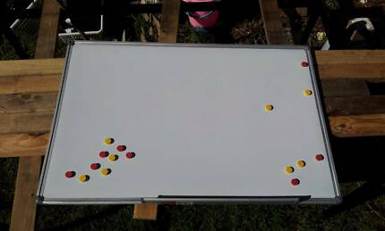 Magnetic White Board 90cm x 60cm whiteboard bulletin Commercial Gladesville Ryde Area Preview