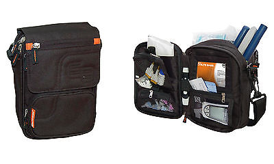 Diabetiker Tee (Tee-uu Elite Bags FIT'S Diabetikertasche Tasche für Diabetiker schwarz Diabetes)