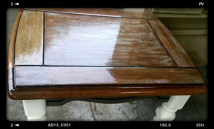 """Sale on now...""""Rehab furniture' side coffee table Rowville Knox Area Preview"""