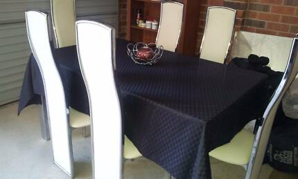 Elegant Dining Chairs n Table and Coffee Table