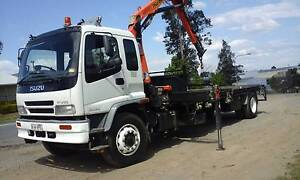 Crane truck - On the move transport Pty Ltd Highland Park Gold Coast City Preview