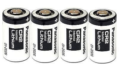 4 Pieces -  Panasonic CR2 Photo Lithium 3V Batteries New Bulk EXP 2026