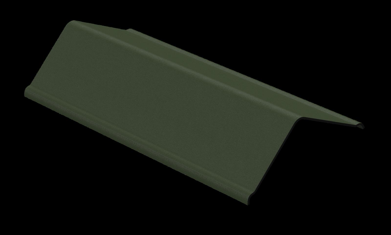 Firsthauben f/ür Bitumenwellplatten rot mit Metallkante 850 mm